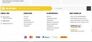 Serie A Store achteraf betalen met afterpay