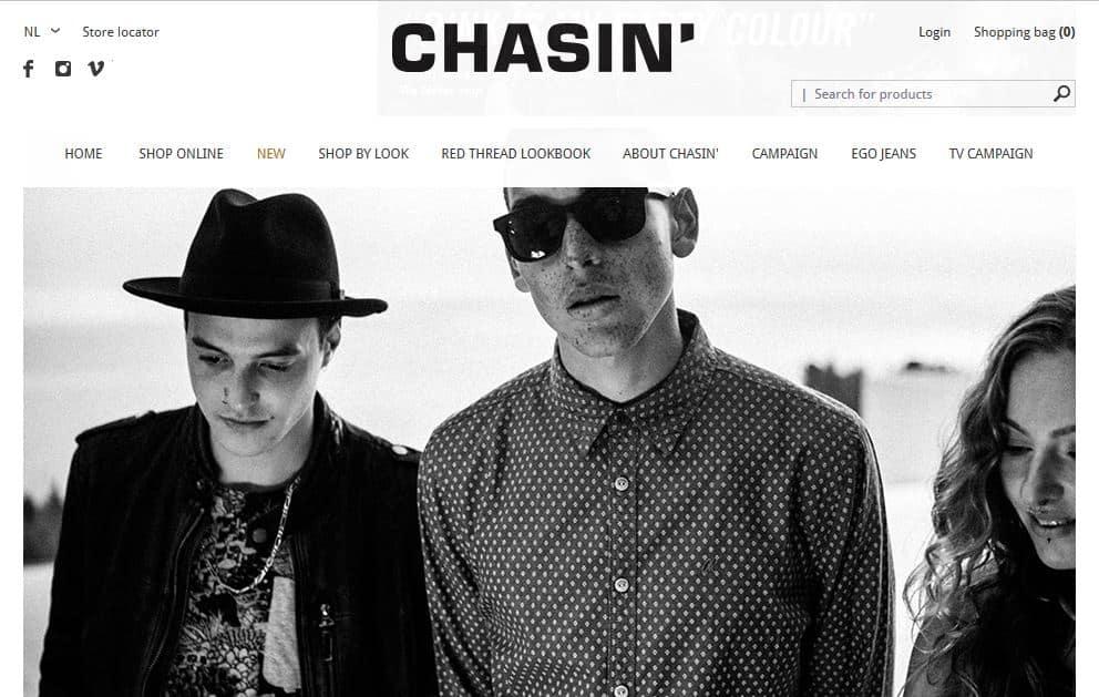 Chasin Homepage