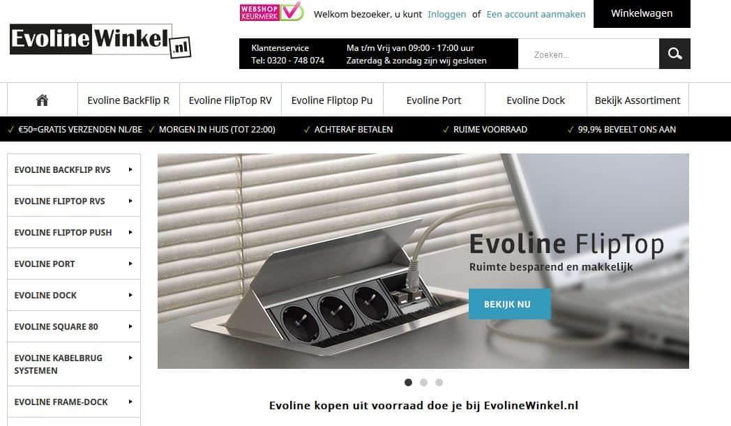 Evoline winkel homepage