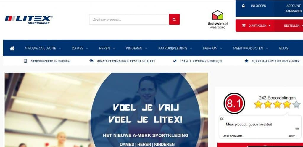 Litex Shop Online Bestellen Achteraf Betalen