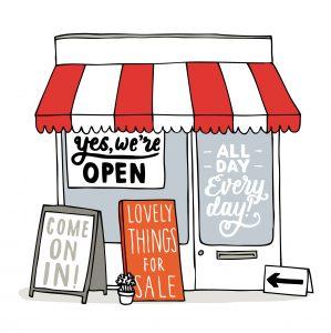 Achteraf betalen winkels
