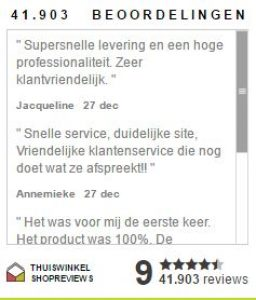 deonlinedrogist.nl reviews