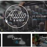 De webwinkel van audioshop
