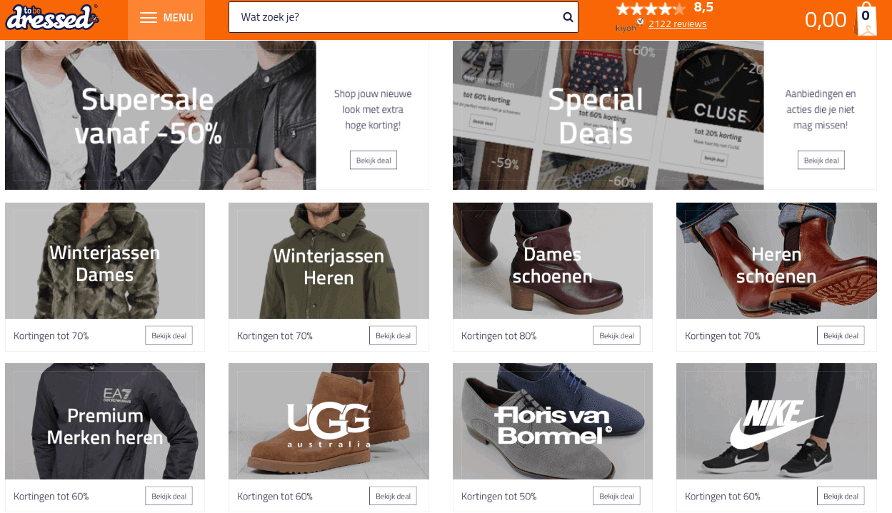 To be Dressed winkelen met afterpay