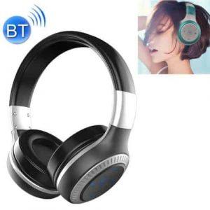 Draadloze koptelefoon met microfoon zilver B20