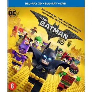 Lego Batman movie (3D) (Blu-ray)