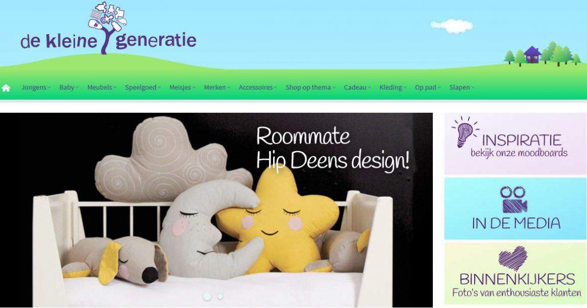 Homepage De Kleine Generatie