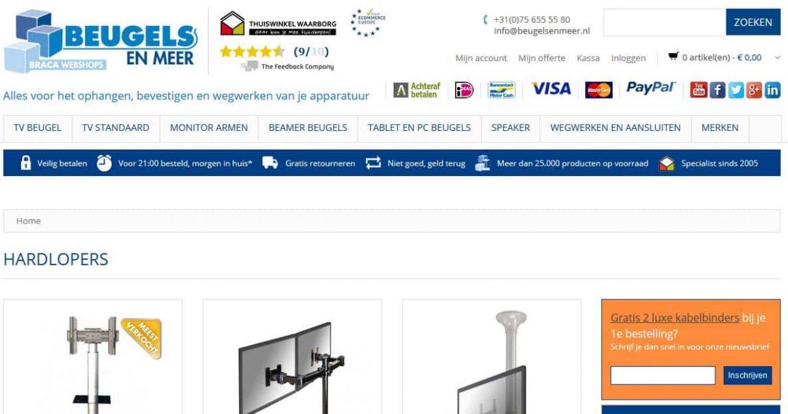 Homepage beugelsenmeer.nl