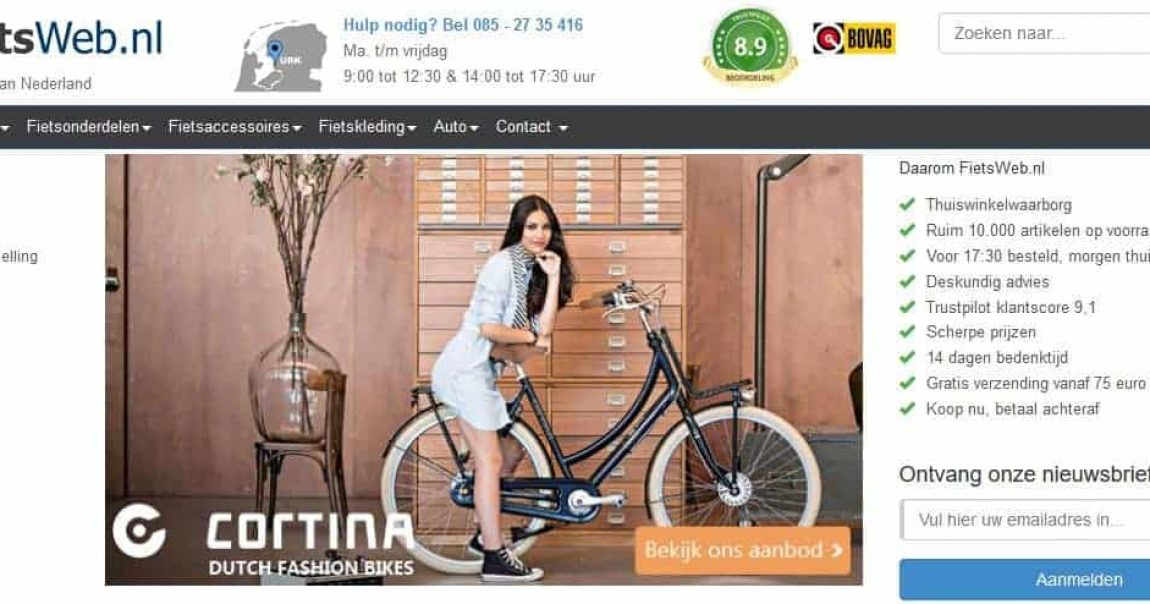 fiets web afterpay